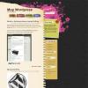 Черный цветок WordPress