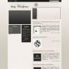 Уникальный шаблон WordPress: Ginger mag