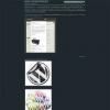 Темный простой шаблон WordPress