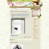 Кулинарный шаблон wordpress: Julie and Julia
