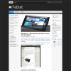Современный шаблон WordPress: iTablet