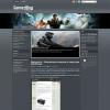 Игровой шаблон wordpress: GamezMag