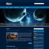Космическая тема для wordpress: Alium