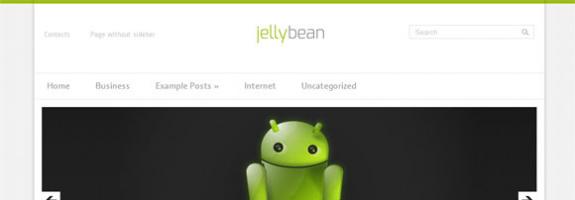 Android шаблон для wordpress от SMThemes: JellyBean