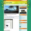 Яркая тема wordpress: OrganicBlog