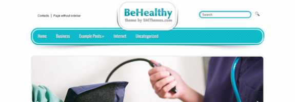 Медицинская тема wordpress: BeHealthy