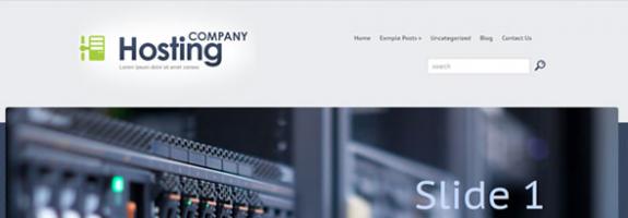 Шаблон wordpress для хостинга: HostingCompany