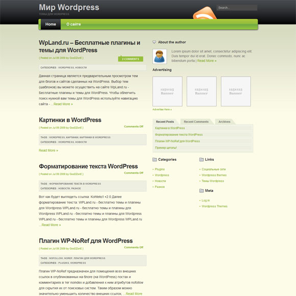 Премиум WordPress